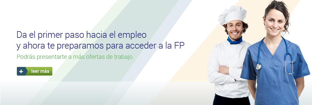 Cursos preparatorios de acceso a FP