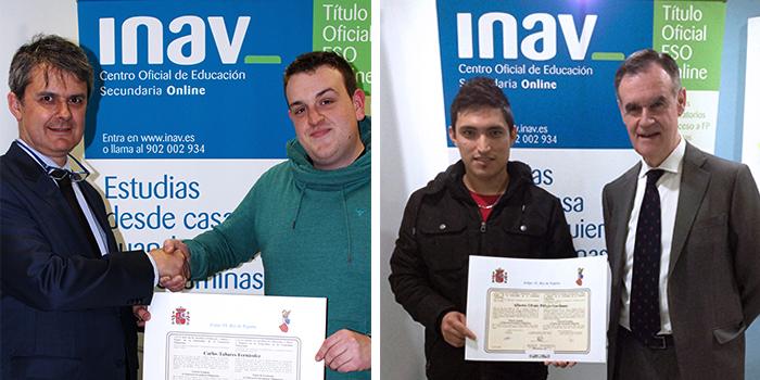 Los alumnos de la primera promoción de INAV reciben el título oficial de la ESO