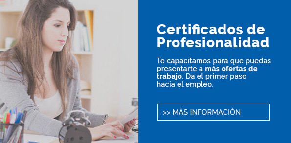 Certificados profesionalidad - INAV Centro ESO Online